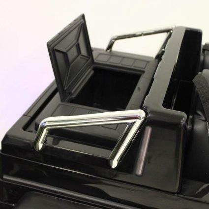 Электромобиль Mercedes-Benz G63-AMG 4WD A006AA черный (шестиколесный, привод на 4 колеса, музыка, пульт управления)
